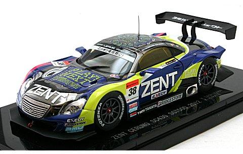 ゼント セルモ SC430 スーパーGT500 2012 No38 (1/43 エブロ44736)
