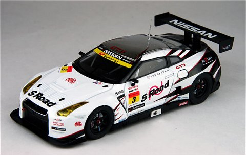 エスロード NDDP GT-R スーパーGT300 2012 No3 (1/43 エブロ44746)