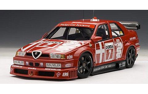 アルファロメオ 155 V6 TI DTM 1993 No7 最終戦・ホッケンハイム優勝 (1/18 オートアート89304)