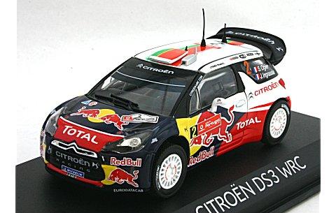 シトロエン DS3 2011 WRC ポルトガルラリー 優勝 No2 (1/43 ノレブ155352)