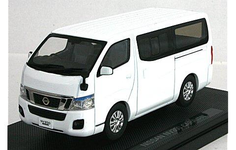 ニッサン NV350 キャラバン ホワイト (1/43 エブロ44846)