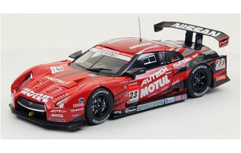 モチュール オーテック GT-R ローダウンフォース スーパーGT500 2012 No23 (1/43 エブロ44850)