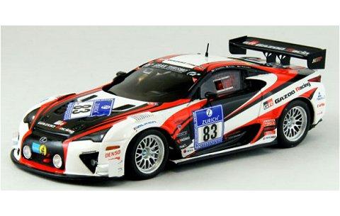 レクサス LFA ニュルブルクリンク 24時間レース 2012 No83 (1/43 エブロ44890)