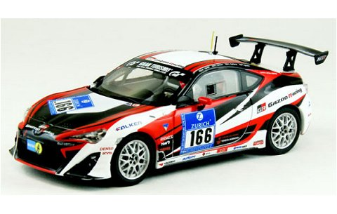 トヨタ 86 ニュルブルクリンク 24時間レース 2012 No166 (1/43 エブロ44892)