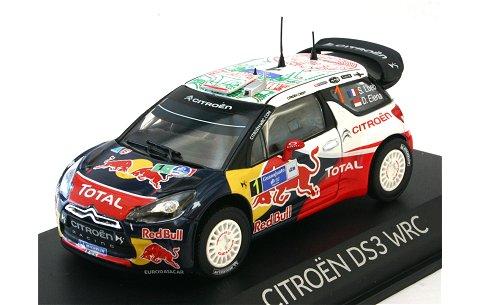 シトロエン DS3 2011 WRC ラリーメキシコ 優勝 No1 (1/43 ノレブ155351)
