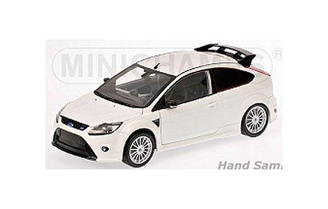 フォード フォーカス RS 2010 ホワイト (1/18 ミニチャンプス100080002)
