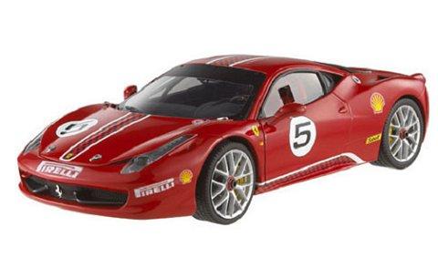 フェラーリ 458 Italia チャレンジ No5 (1/18 マテルMT5486X)