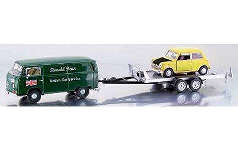 Ronald Dean 3台セット (VW T2-a box van/トレーラー/ミニクーパーMk1) (1/43 プレミアムクラシックスPCS11264)