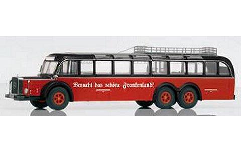 メルセデスベンツ O10000バス レッド/ブラック (1/43 プレミアムクラシックスPCS12304)