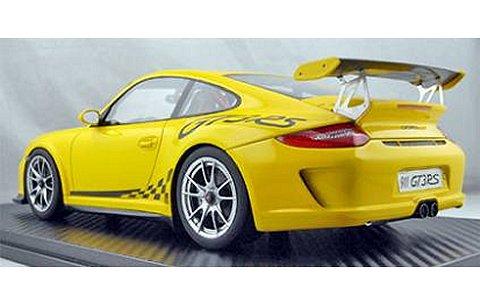 ポルシェ 911 (997) GT3RS イエロー (1/18 フロンティアートF010-08)