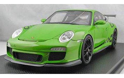 ポルシェ 911 (997) GT3RS グリーン (1/18 フロンティアートF010-21)