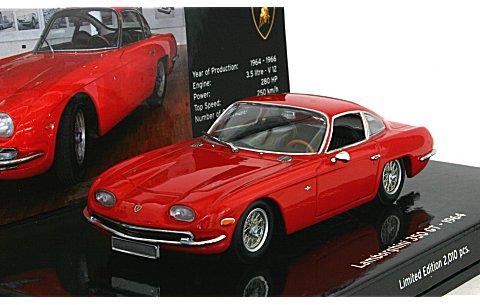 ランボルギーニ 350 GT 1964 レッド (1/43 ミニチャンプス436103200)