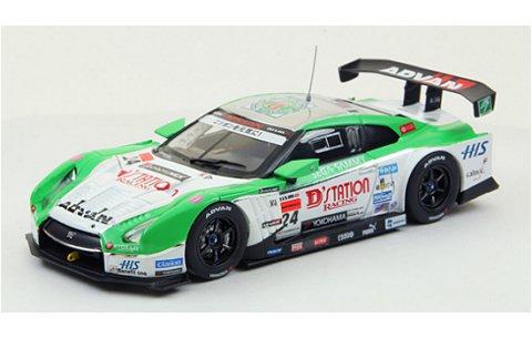 D ステーション ADVAN GT-R ローダウンフォース スーパーGT500 2012 No24 (1/43 エブロ44853)