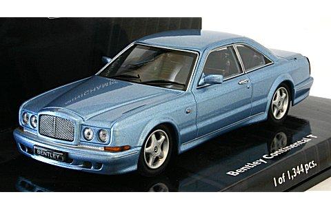 ベントレー コンチネンタル T 1996 ブルー (1/43 ミニチャンプス436139940)