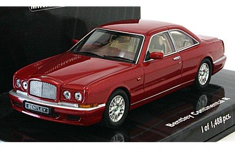 ベントレー コンチネンタル R 1996 レッドM (1/43 ミニチャンプス436139920)