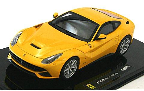 フェラーリ F12 ベルリネッタ イエロー (1/43 マテルMT5500X)