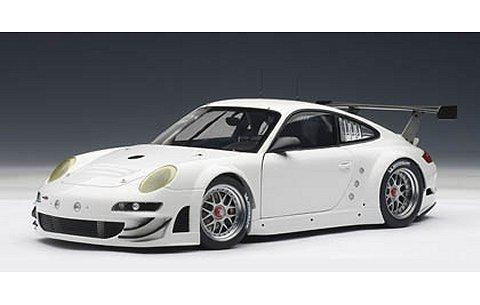 ポルシェ 911 (997) GT3 RSR 2010 プレーンボディ ホワイト (1/18 オートアート81073)