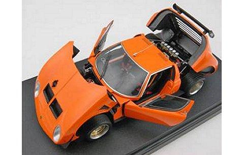 ランボルギーニ ミウラ イオタ SVR オレンジ (フル開閉モデル) (1/43 フロンティアートFA004-09)
