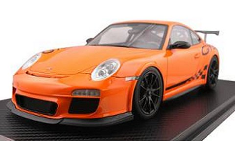 ポルシェ 911 (997) GT3RS オレンジ (1/18 フロンティアートF010-09)