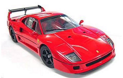 フェラーリ F40 ライトウェイト LMウイング レッド (1/18 京商K08415R)
