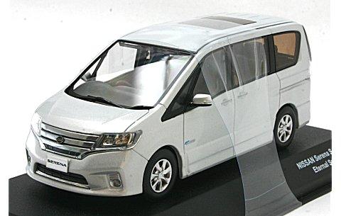ニッサン セレナ ハイウェイスター S-Hybrid エターナルスノーホワイト (1/43 JコレクションJC68005WH)