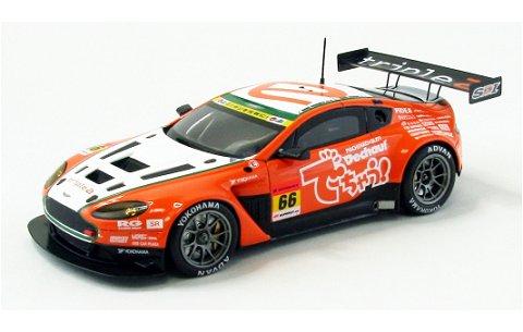 トリプル a ヴァンテージ GT3 スーパーGT300 2012 No66 (1/43 エブロ44752)