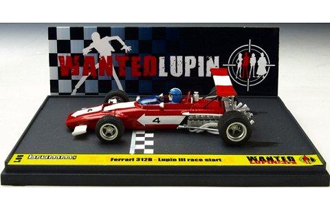 フェラーリ 312B ルパン三世 「WANTED」 スタート ルパン アクション フィギュア付 (1/43 ブルムL06)