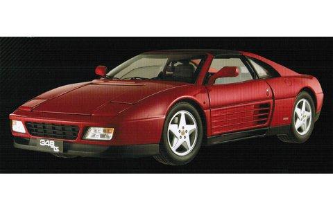 フェラーリ 348TS レッド (エリートシリーズ) (1/18 マテルMT5480X)