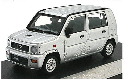 ダイハツ ネイキッド ターボ G 1999 シルバーM (1/43 ハイストーリーHS065SL)