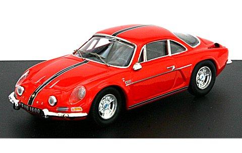 アルピーヌ ルノー A110 1600S 「Berlinetta」 レッド (1/43 トロフュー802r)