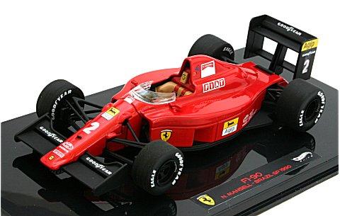 フェラーリ 641 1990 ブラジルGP N・マンセル (エリートシリーズ) (1/43 マテルMT5518X)