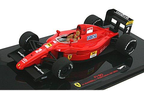 フェラーリ 641/2 1990 ポルトガルGP N・マンセル (エリートシリーズ) (1/43 マテルMT5519X)