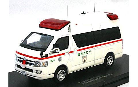トヨタ ハイメディック 2009 東京消防庁高規格救急車 (1/43 カーネルCN430902)