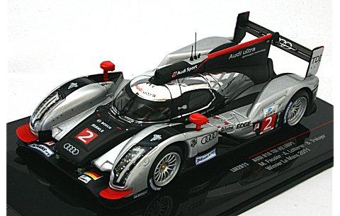 アウディ R18 TDI アウディスポーツチーム ヨースト 2011 ル・マン24時間 優勝 No2 (1/43 イクソLM2011)