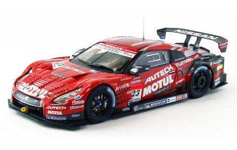 モチュール オーテック GT-R スーパーGT500 2013 No23 (1/43 エブロ44910)