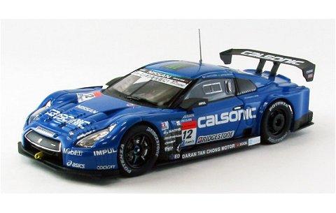 カルソニック インパル GT-R スーパーGT500 2013 No12 (1/43 エブロ44911)