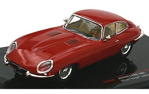 ジャガー Eタイプ 1961 レッド (1/43 イクソCLC250)