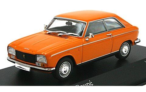 プジョー 304 クーペ 1972 オレンジ (1/43 ミニチャンプス400112721)