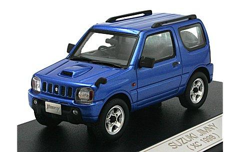 スズキ ジムニー XC 1998 キプロスブルーM (1/43 ハイストーリーHS066BL)