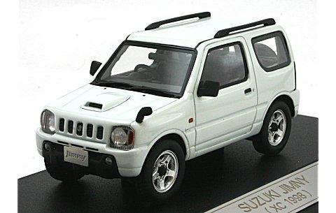 スズキ ジムニー XC 1998 スペリアホワイト (1/43 ハイストーリーHS066WH)