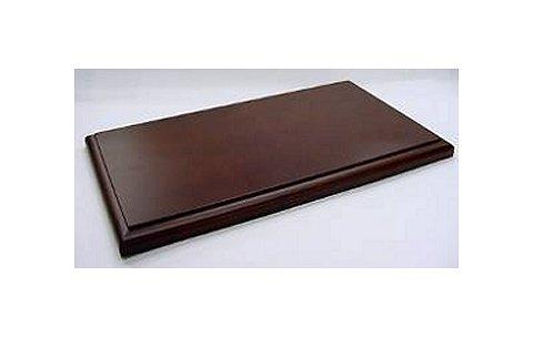 1/18用 ディスプレイ木製ベース ブラウン (1/18 コレクションケース 京商7295)