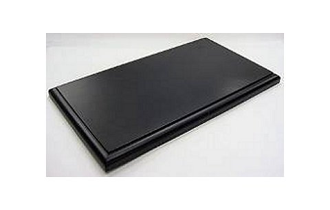 1/18用 ディスプレイ木製ベース ブラック (1/18 コレクションケース 京商7296)