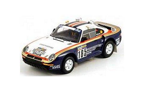 1986 ポルシェ 959/50 ダカールラリー 2位 No185 (1/18 TSM111806R)