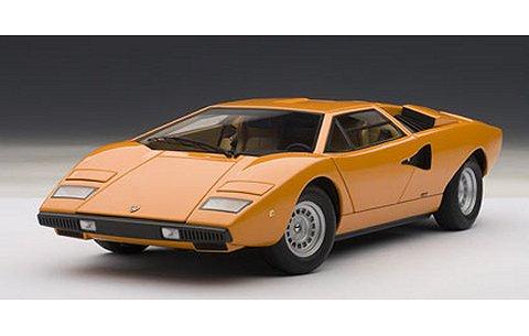 ランボルギーニ カウンタック LP400 オレンジ (1/18 オートアート74647)l