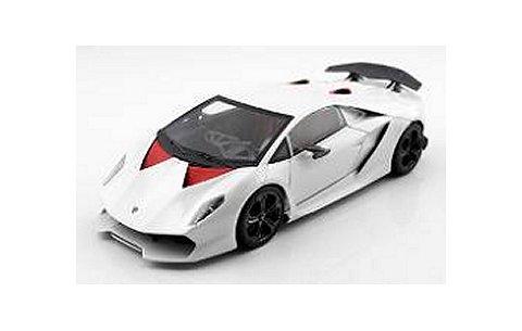 ランボルギーニ Sesto Elemento ホワイト フル開閉モデル (1/43 フロンティアートF002-02)