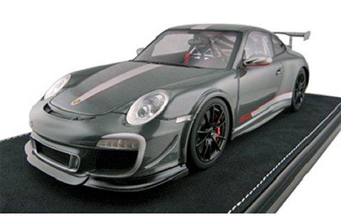 ポルシェ 911 GT3 RSR 4.0 ターニッシュグレー (1/18 フロンティアートF022-19)