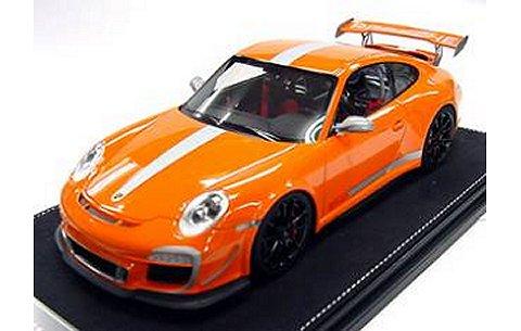 ポルシェ 911 (997) GT3 RS 4.0 オレンジ (1/18 フロンティアートF022-09)