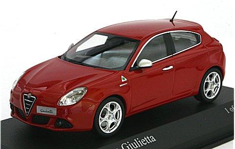 アルファロメオ ジュリエッタ 2010 レッド (1/43 ミニチャンプス400120001)