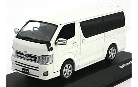トヨタ ハイエース スーパー GL ホワイト (1/43 JコレクションJC35012WH)
