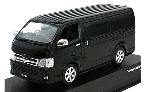 トヨタ ハイエース スーパー GL ブラックマイカ (1/43 JコレクションJC35013BK)